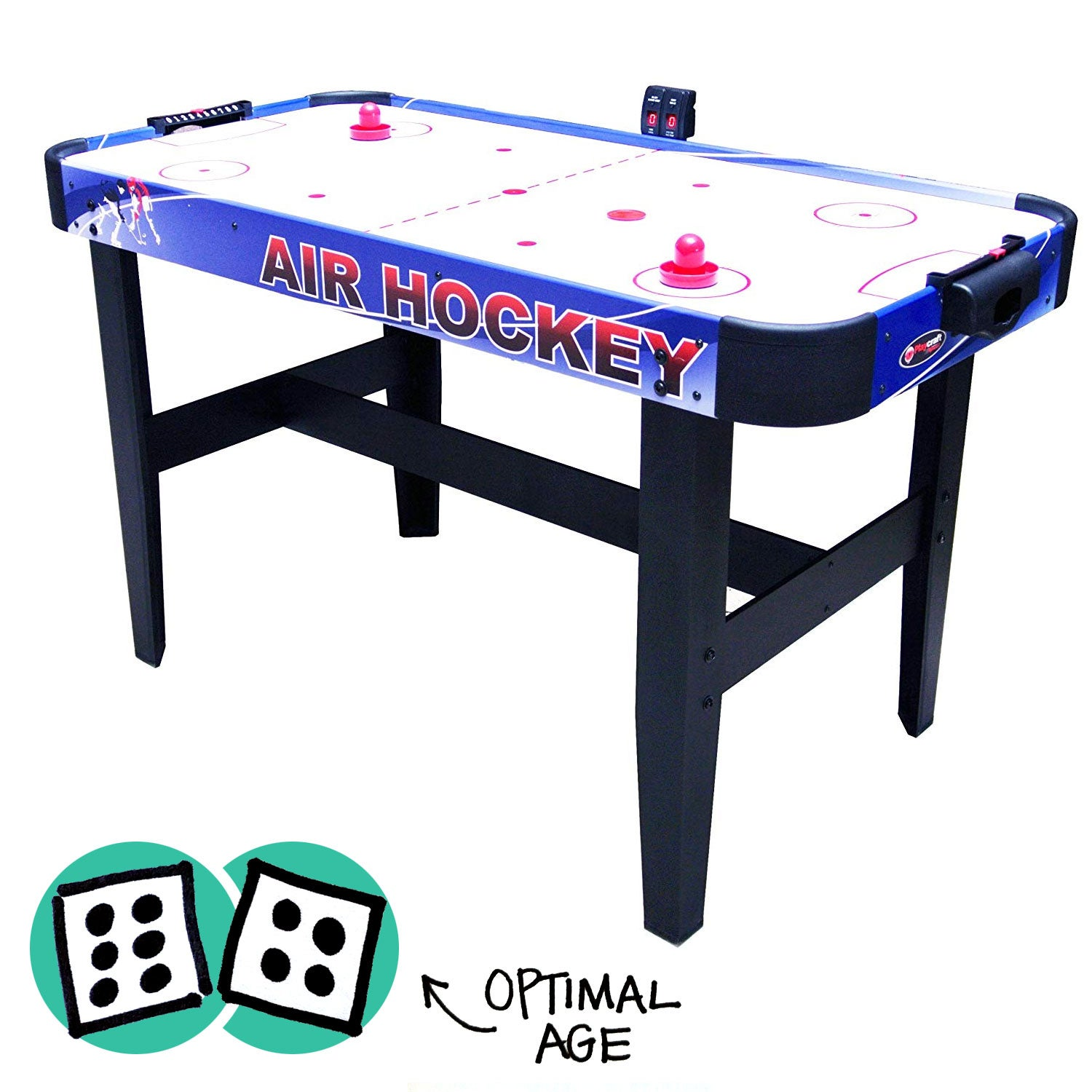 "Playcraft Sport 54"" Air Hockey Table."